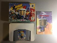 Bomber Man 64 - Boxed Complete - Nintendo 64 N64 Game PAL Bomberman
