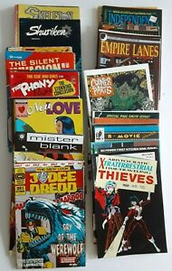 LOT - 84 Comic Books Independent / Alternative Publishers 1980's 1990's See List