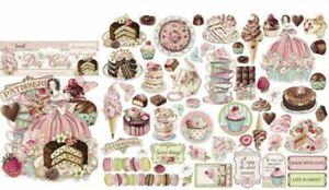 SALE Sweety Stamperia Die-Cuts pack of 59 pieces