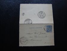 FRANCE - carte-lettre whole 1891 (B13) french