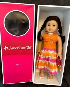 Retired American Girl of the Year GOTY Doll 2006 Jess McConnell in Original Box