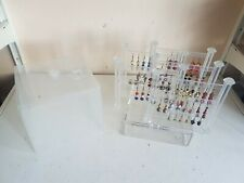 Acrylic Earring Holder Case Multi Earring Panel Removable Panels Shop Display