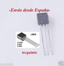 Sensor de temperatura LM35 LM35DZ TO92, arduino y electronica