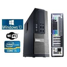 Dell Optiplex 990/790 SFF or DT Windows 10 Pro Core I5, 3.4GHz 8GB WiFi ready