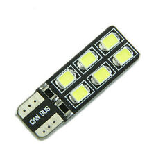 T10 LED CANBUS ERROR FREE White Light 12-2835 SMD W5W 194 168 Door Map Bulb ec