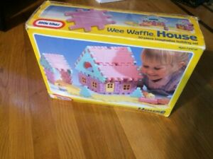 Wee waffle house little tikes.  Additional Waffle blocks  blue,red,yellow six ea