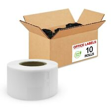 10 Rolls of 30251 Compatible Address Labels for DYMO® 1-1/8'' x 3-1/2''