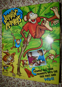 Jumpin' Monkeys Replacement Pieces & Parts 1991 Pressman