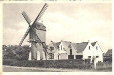 carte postale - Wenduine -Le moulin - De molen