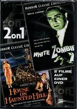 DVD 2on1   2 Classic-Filme   White Zombie & House on Haunted Hill   FSK 18   Neu