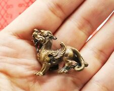 PI YAO MINI AMULET LUCKY CHARM DRAGON CHINESE WEALTH ATTRACTION HAPPY MONEY RICH