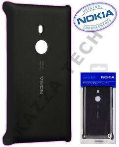 GENUINE Nokia Lumia 925 Wireless Charging Black Case Cover Shell Plate CC-3065