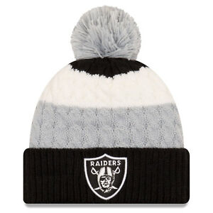 Raiders New Era Layered Up Knit  * New with Tags *