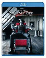 Sweeney Todd Johnny Depp BLU-RAY NEW Factory Sealed FREE SHIPPING!!!