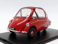 Oxford Diecast 1/18 Scale Model Car 18HE002 - Heinkel Kabine - Spartan Red