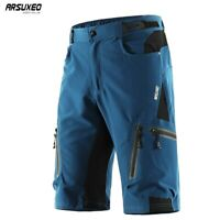 Men's Cycling Shorts Mountain Bike Bicycle Shorts Water Resistant Gel Pad Shorts