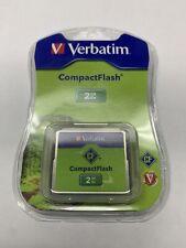 Verbatim 2GB CompactFlash I Card - 47012 - New in Blister pack