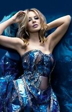 Kylie Minogue Aqua Blue Poster 24inx36in
