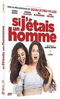 """DVD """" si Yo Fuera un Hombre"""" Audrey Dana Nuevo en Blíster"""
