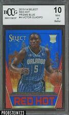 2013-14 Select Red Hot Blue Prizm #4 Victor Oladipo Pacers RC Rookie /49 BCCG 10