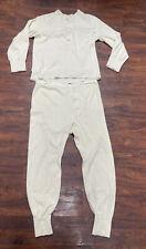 1950 thermal underwear size medium. Likely Naval.