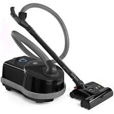 Sebo Airbelt D4 Premium 90640am Canister Vacuum with Et-1 and Parquet Brush