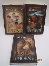 A.D. Chronicles: First Light,  Second Touch and Third Watch Lot of 3 by Thoene