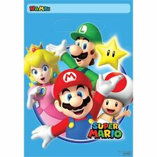 Super Mario 8 x Party bags (Loot bags)