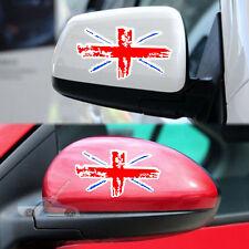 2 x Flag of UK Car Sticker Decal Union Jack Union Flag British car side mirror