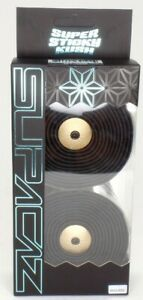 SUPACAZ Super Sticky Kush Road Bike Bar Tape, Star Fade Gold