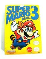 Super Mario Bros. 3 NES Nintendo 1990 CIB Complete In Box - Tested