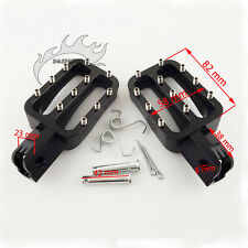 CNC Aluminum Footpegs Foot pegs For CRF 70 XR 50 KLX TTR SSR Thumpstar Dirt Bike