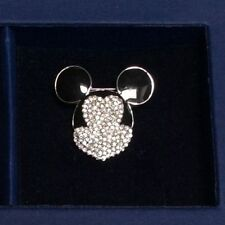 Swarovski Crystal Disney Mickey Mouse Pin Pave Brooch NEW RARE  872509 - 1270778