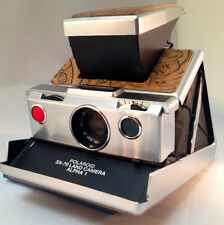 Polaroid SX-70 PolaSkinz Tan Western Floral Napa Cowhide Replacement Skin SLR680
