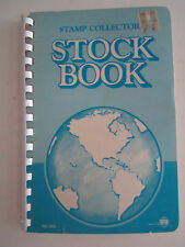 WW STAMP COLLECTORS STOCK BOOK - UNSEARCHED USED & UNUSED STAMPS - TUB EE