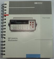 NEW HP 34401A Multimeter User's Guide (Covers have some light wear) ++FREE SHIP!