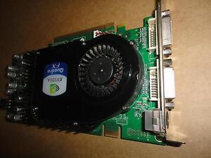 0T9099 T9099 Dell Nvidia Quadro FX3450 256MB PCI-E Video Card