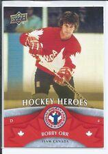 Bobby Orr  2013 Upper Deck  #NHCD11  National Hockey Cad Day - Hockey Heroes