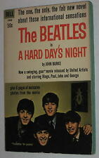 1964 The Beatles in A Hard Day's Night Paperback w/ Photos 2nd Edition