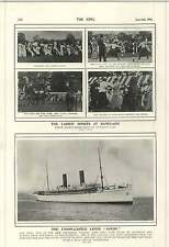 1900 West Indian Cricket Team First Appearance Crystal Palace Steamship Saxon