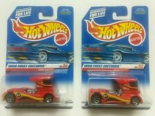 1999 HotWheels First Edition Semi Fast with rare one chrome grill variation x2!!
