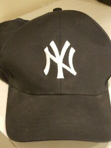 USED new york yankees hat cap adjustable mlb baseball ny nyy
