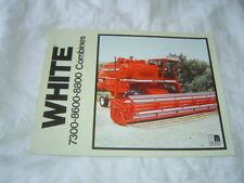 White 7300 8600 8800 combine brochure