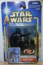 VINTAGE 2002 DARTH VADER 3.75in. ACTION FIGURE BESPIN DUEL BY HASBRO TESB NIP