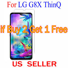 """1x Clear LCD Screen Protector Guard Cover Shield Film For LG G8X ThinQ  6.4"""""""
