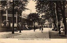 CPA Militaire, Plombieres les Bains - Casino et Petite Promenade (279026)