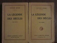Victor HUGO: La légende des siècles /Tome I.,II. /