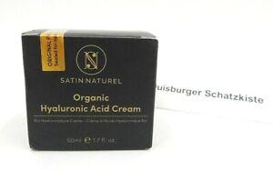 Satin Naturel Organic Hyaluronic Acid Cream Bio Hyaluronsärecreme 50ml