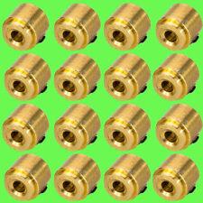 ► 20 Stück 2mm Stellring Stellringe Messing incl Madenschraube Sechskant Messing
