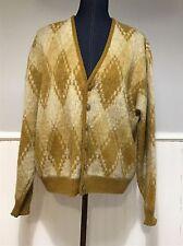 Vtg 60s Puritan Fuzzy Wool Mohair Sweater Mens Size Xl Rockabilly Grunge Usa